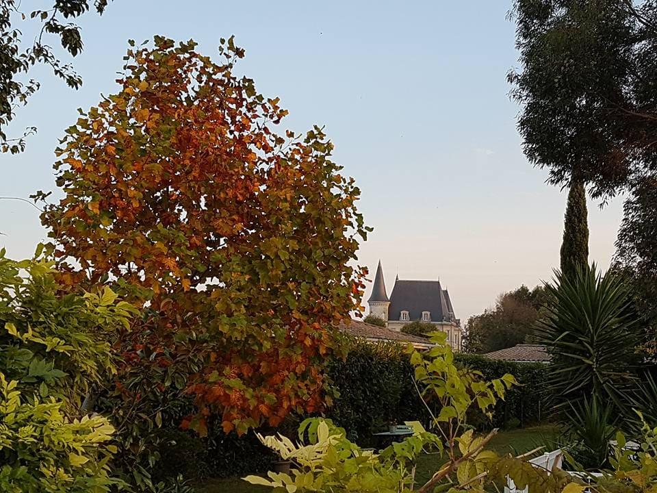 Maison d'hôte de charme avec jardin proche de Bordeaux