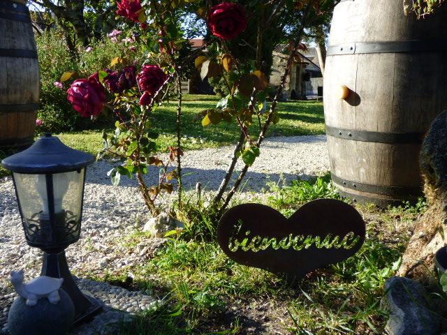 Le jardin du Coeur des Vignes à Pauillac